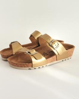 Ženska anatomska papuča | V-001 zlatna