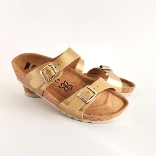 Ženska anatomska papuča | V-001 zlatna 3